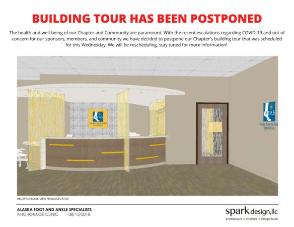 March Building Tour - Postponed